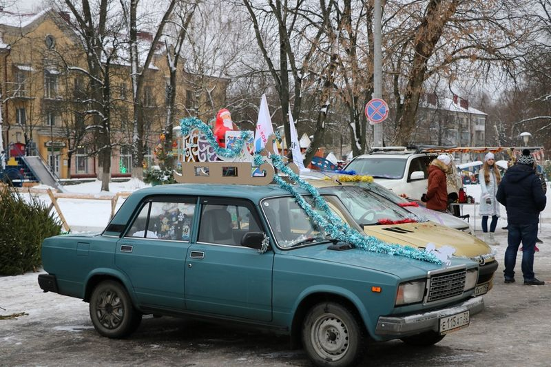 Брянск выбрал новогоднее «чудо наколёсах»
